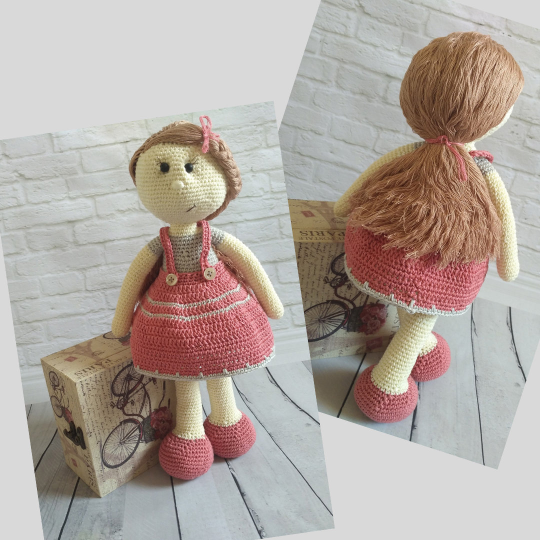 Crochet Doll Pattern - Carrie 02