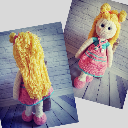Crochet Doll Pattern - Carrie 03