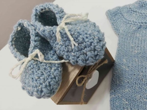 Blue Baby Set 4