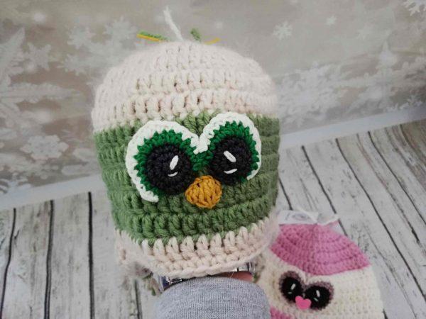 Penguin Green Hat