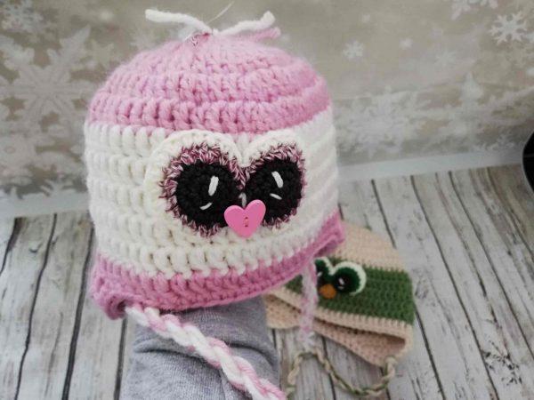Penguin Pink Hat