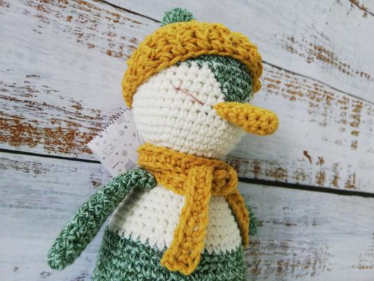 Crochet Penguin Toy 02