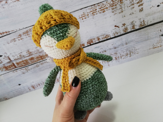 Crochet Penguin Toy 05