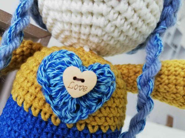 ChoveChe Amigurumi Blue Toy-03