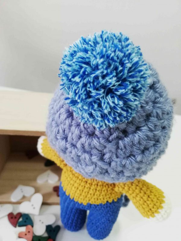 ChoveChe Amigurumi Blue Toy-04
