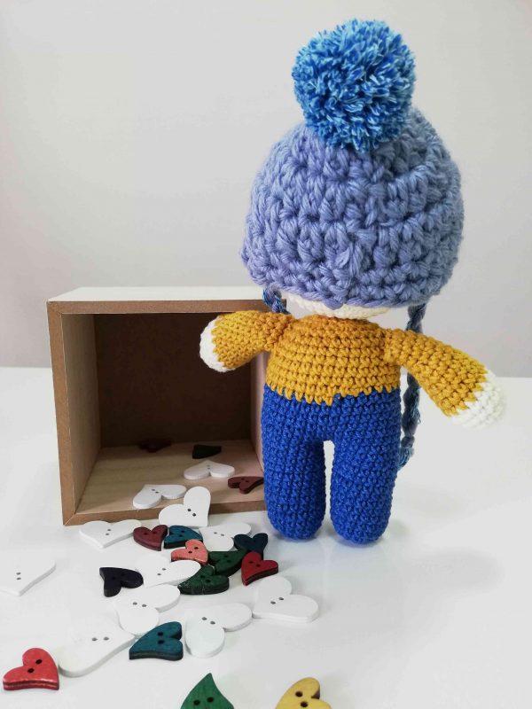 ChoveChe Amigurumi Blue Toy-05