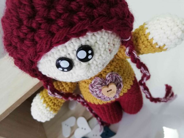 ChoveChe Amigurumi Red Toy-02
