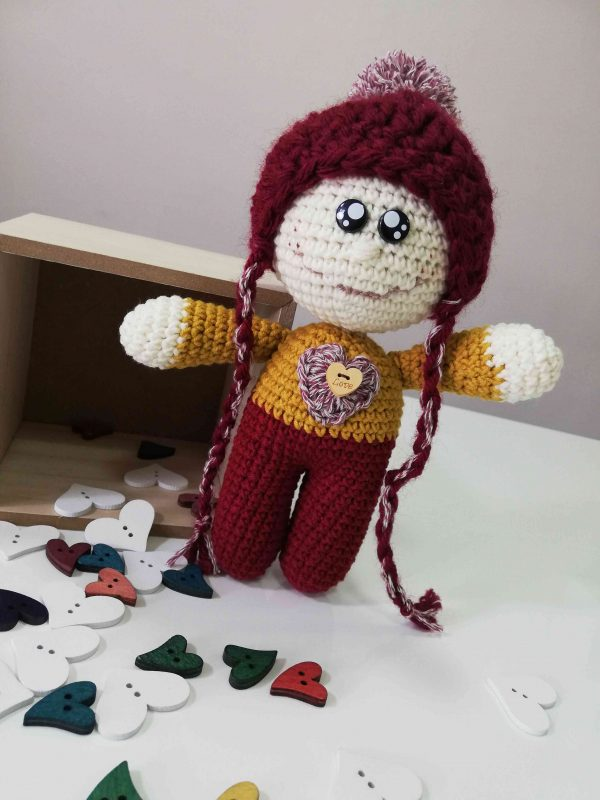 ChoveChe Amigurumi Red Toy-04