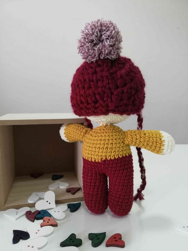 ChoveChe Amigurumi Red Toy-05
