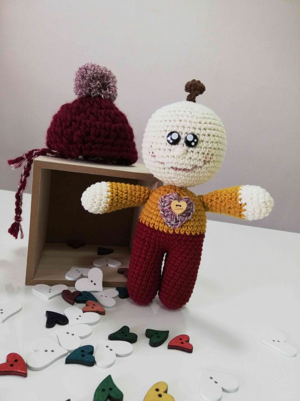 ChoveChe Amigurumi Red Toy-06