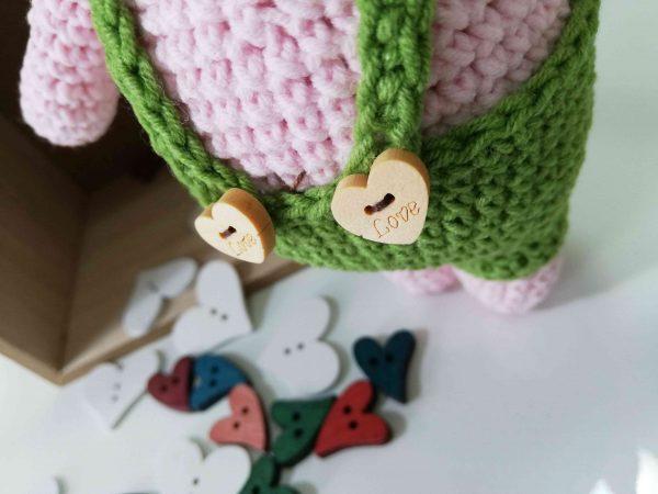 Piggy Hand Knitted Amigurumi Toy - 06