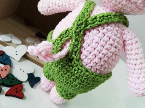 Piggy Hand Knitted Amigurumi Toy - 08