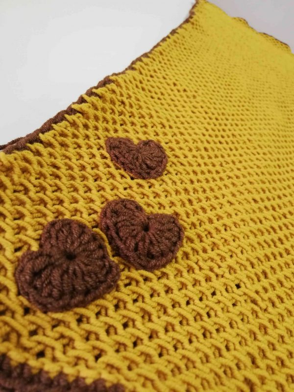 Soft Baby Blanket - Mustard Colour -01