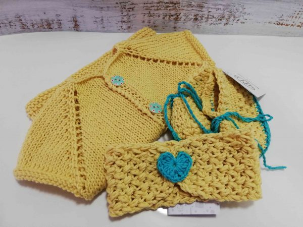 Baby Set in Yellow Colour