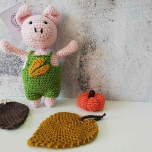 Piggy Crochet Amigurumi Toy
