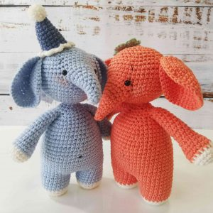 Elephants Crochet Plushy Toys