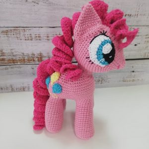 Pinkie Pie – Crochet Amigurumi Toy