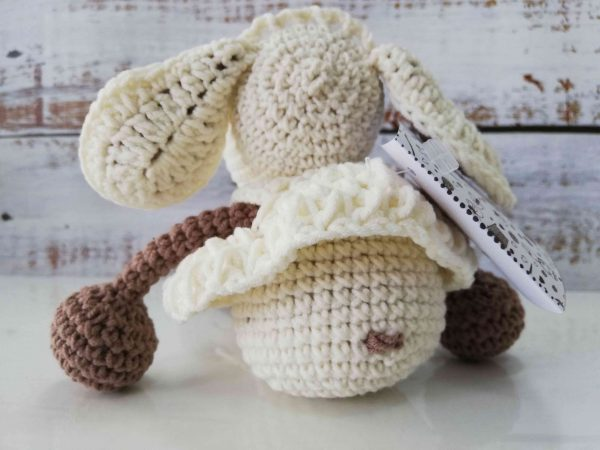 Crochet Amigurumi Sheep - Light Brown Color 03