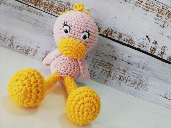 Cute Crochet Plushy Ducks in different colors 01