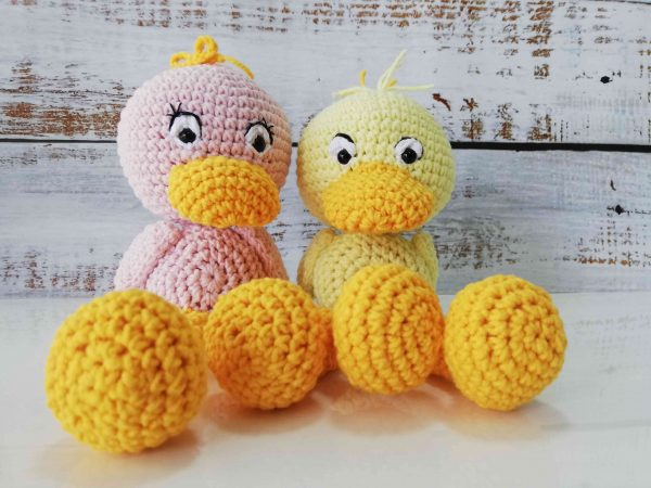 Cute Crochet Plushy Ducks in different colors 13