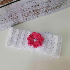 Crochet Headbands with Flowers