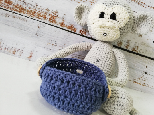 Crochet Amigirumi Monkey Toy