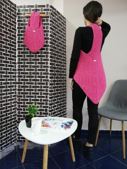Crochet Ladies Vest 02