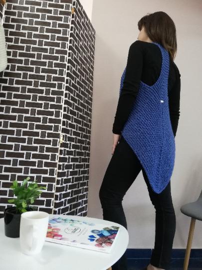 Crochet Ladies Vest 10
