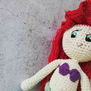 Crochet Doll Ariel (The Little Mermaid)