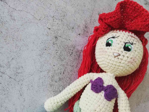 Crochet Doll Ariel The Little Mermaid