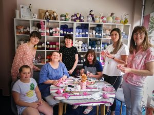 World Wide Knit in Public Day and our Workshop! – 08.06.2019