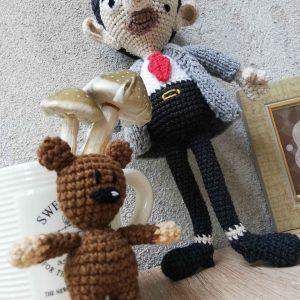 Amigurumi Mr Bean Bear, Design & Craft, Handmade Goods ...   300x300
