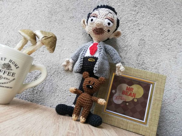 mr-Bean-and-Teddy-portret