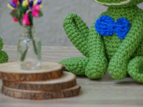 green-mr-frog-with-a-blue-bow-tie
