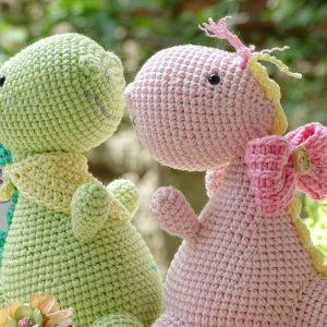 Crochet dinosaurs- Dinos