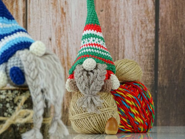 gnomes with braided beards