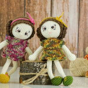 "Autumn ""Flower"" Dolls"