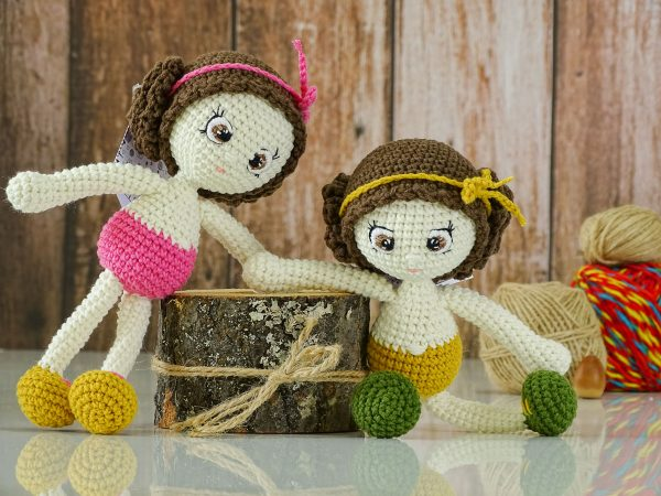 nacked flower dolls