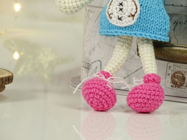 """christmas """"flower""""doll with pink shoes"""