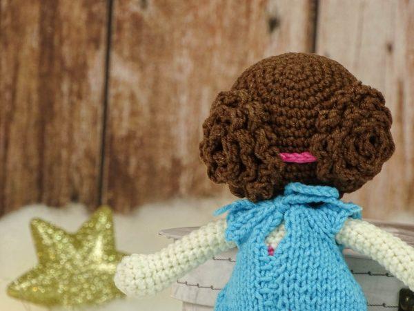 "christmas ""flower""doll dress ribbon"