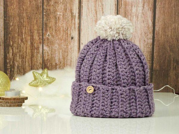 classic hat purple