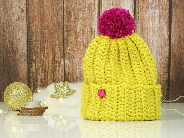 classic hat yellow