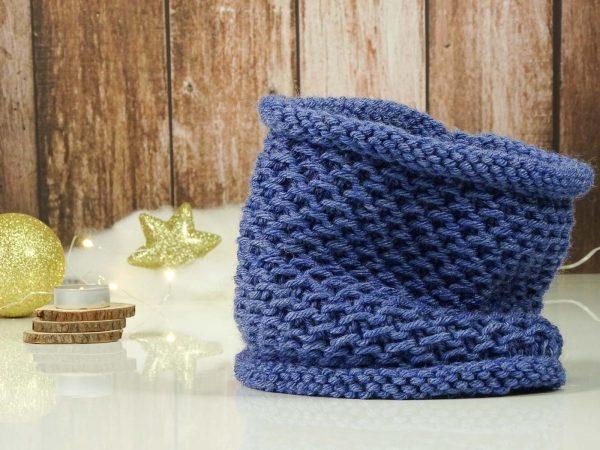 """Collar"" scarf blue"