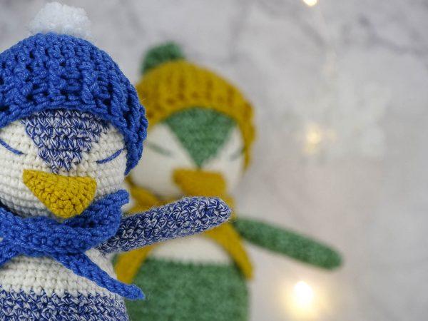 penguin toy crochet pattern