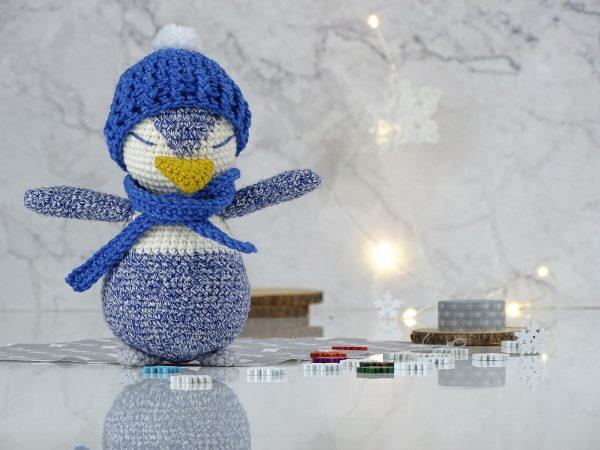 blue penguin toy